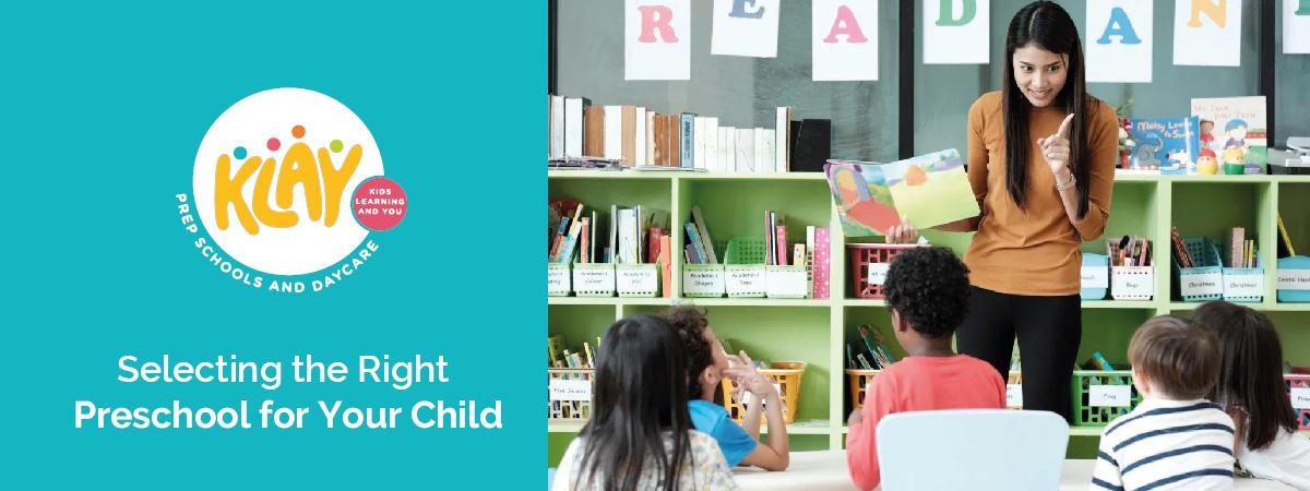 How to select preschool